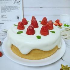 奶油淋面蛋糕