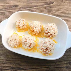 蛋黄糯米团