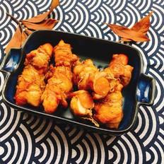 香肠鸡肉卷