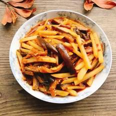 茄子炒土豆