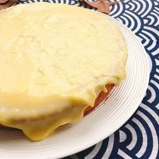 豆乳卡士达酱蛋糕