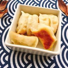 酸菜鸡蛋水煎饺