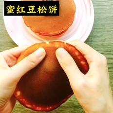 蜜红豆松饼