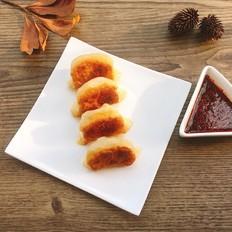 香菇鸡肉煎饺
