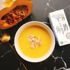 宝宝辅食——奶香南瓜浓汤