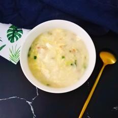 火腿卷心菜疙瘩汤