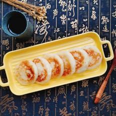 拉丝土豆糯米饼