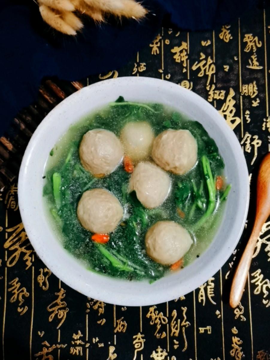 西洋菜肉丸汤