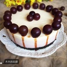 蓝莓渐变色芝士蛋糕