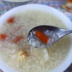 莲子百合糯米粥