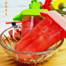 西瓜蜂蜜冰棍