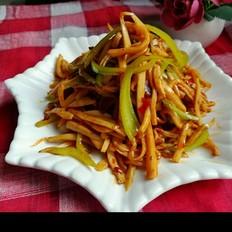红油青椒杏鲍菇