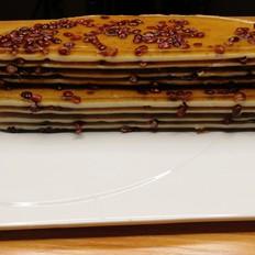 红豆千层马蹄糕