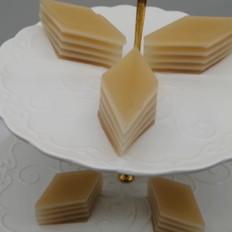 山楂椰汁马蹄糕做法,千层马蹄糕制作流程,糕点详细教程