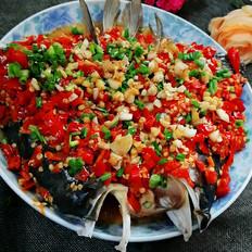 年夜菜谱剁椒鱼头