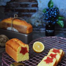 柠檬星磅蛋糕