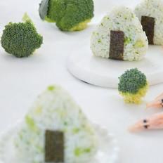 西兰花海鲜饭团的做法