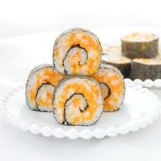 咸蛋黄红虾寿司的做法