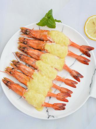 黄梅酱焗虾的做法