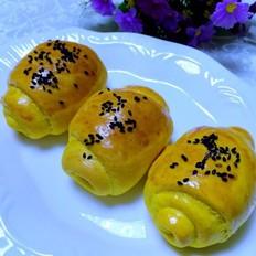 南瓜面包卷