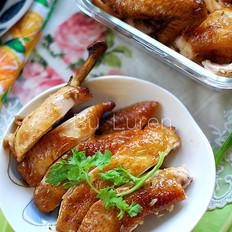 香酥烤鸡的做法