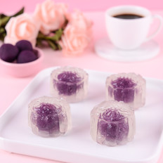 水晶紫薯月餅
