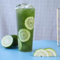 香水麦草奇异果柠檬茶/奇异果手打柠檬茶/香水柠檬奇异果绿茶