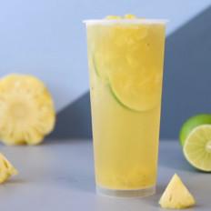 老盐凤梨/老盐凤梨柠檬茶/老盐柠檬水
