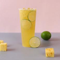 微醺菠萝/自制菠萝啤/菠萝啤酒/菠萝果汁/菠萝鸡尾酒
