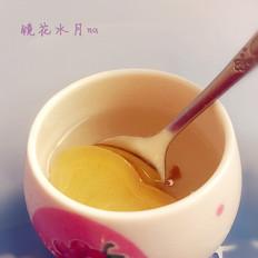 蜜汁姜片茶的做法
