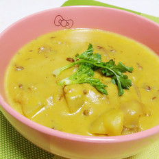 牛奶咖喱锅