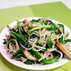 韭菜豆芽小合菜