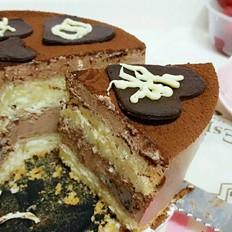 生日蛋糕——黑巧乳酪慕斯