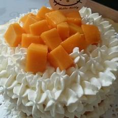 4寸芒果裸蛋糕