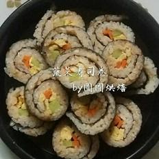 蔬菜版寿司卷