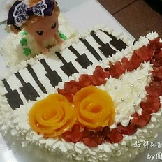 旋律音符·生日蛋糕的做法