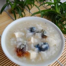皮蛋豆腐粥
