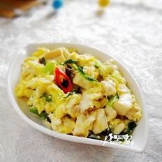 小炒芹菜雞蛋豆腐的做法大全