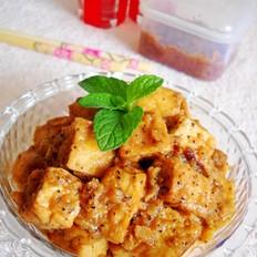 黑椒汁豆腐