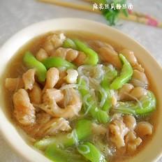 麻花丝瓜粉丝素汤