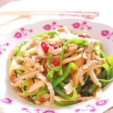 酸菜青椒肉丝