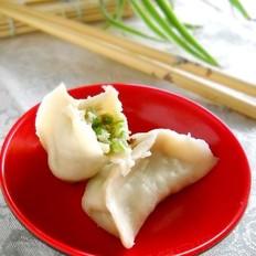 葫芦瓜香菇鲜肉饺