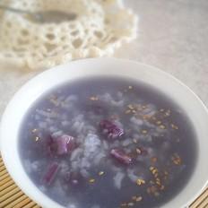 紫薯糙米粥