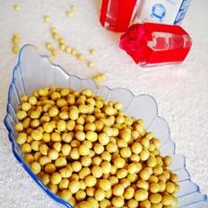 微波孜然香酥黄豆