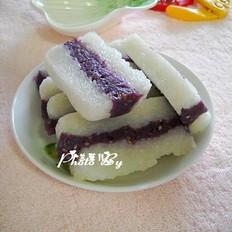 芝麻紫薯凉糕