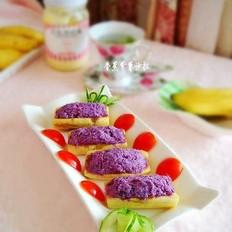 紫薯香蕉沙拉