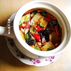 腊味砂锅豆腐