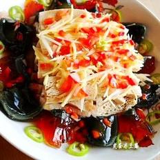皮蛋冻豆腐