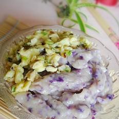 葱香紫疙瘩面