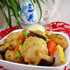 黄陂三鲜之菌菇烩三鲜